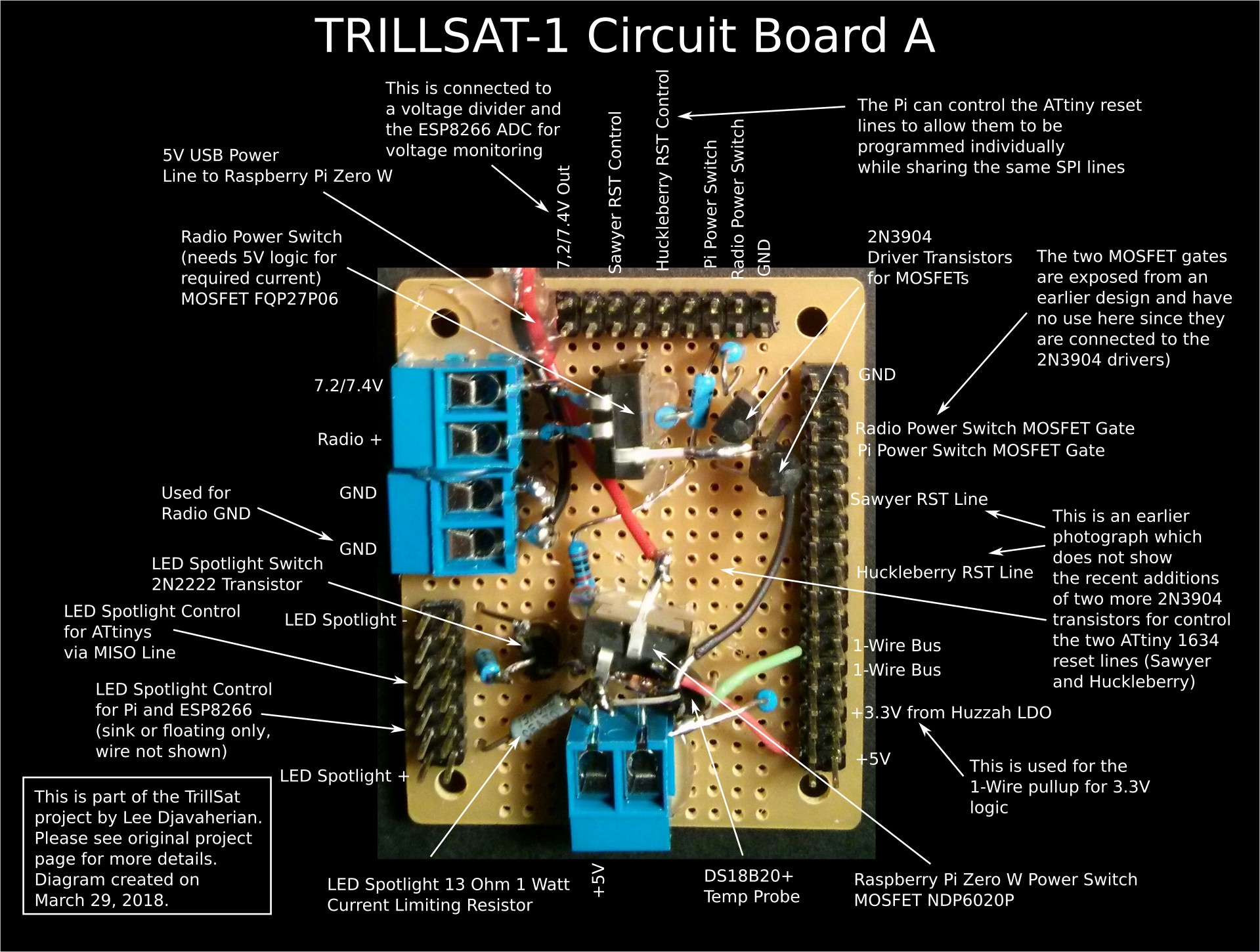 Trillsat Re 6 Battery Tesla Switch Circuit Mosfet Solid State Updated 06 Board B